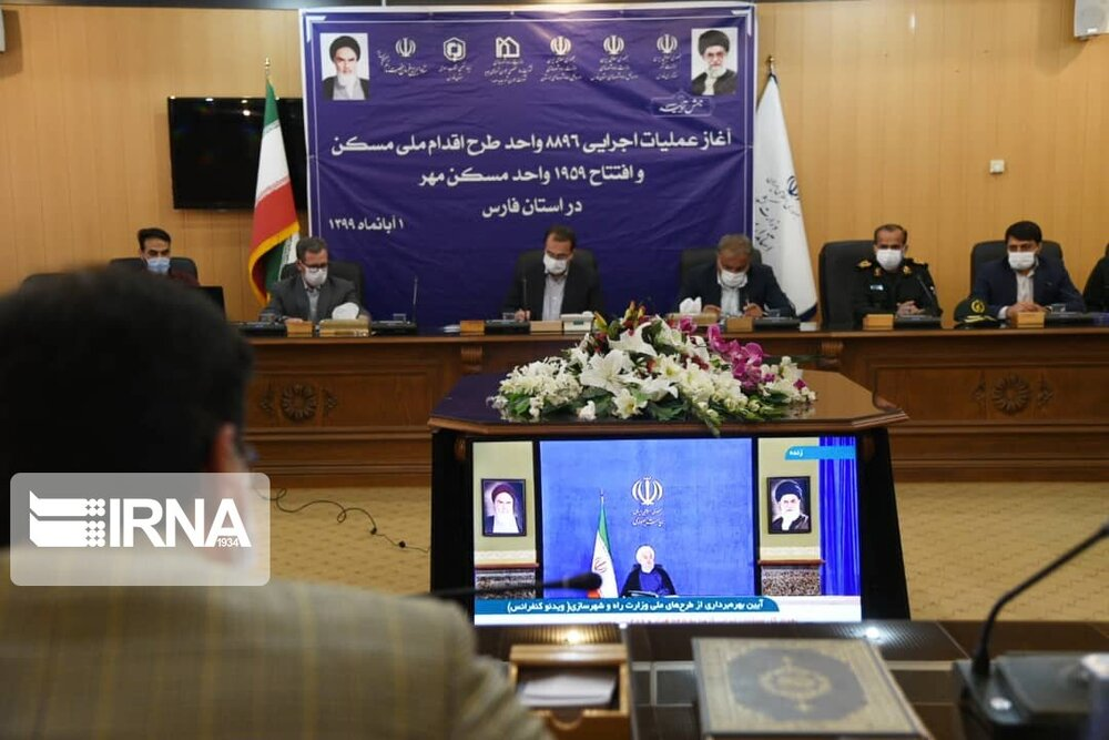 Rouhani launches, inaugurates projects for constructing 11,000 houses