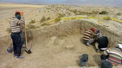 Ramparts of ancient fort unearthed in northeast Iran