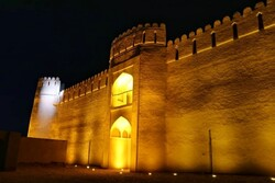 Sassanid fortress equipped with new lighting system