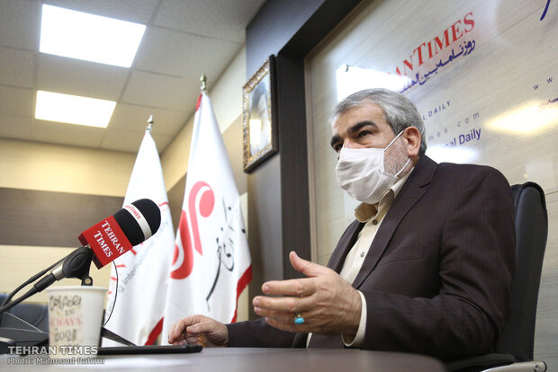 Guardian Council spokesman visits Tehran Times