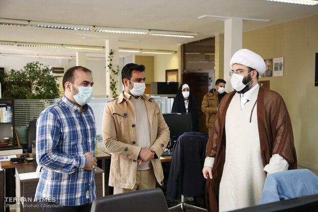 Islamic Ideology Dissemination Organization's chief visits Tehran Times