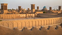 Yazd's historical texture