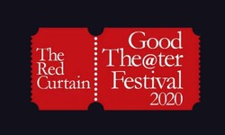 A poster for the Red Curtain International.