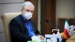 Iranian Health Minister Saeed Namaki