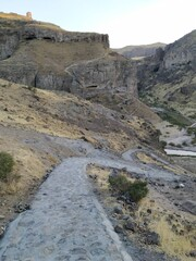 Zahhak castle more reachable as stone walkway completed