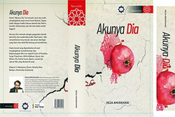 "Cover of the Indonesian version of Persian writer Reza Amirkhani's novel ""His Ego""."