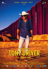 "A poster for ""Tony Driver"" by Italian filmmaker Ascanio Petrini."