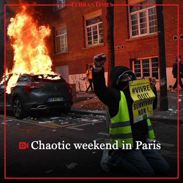Chaotic weekend in Paris