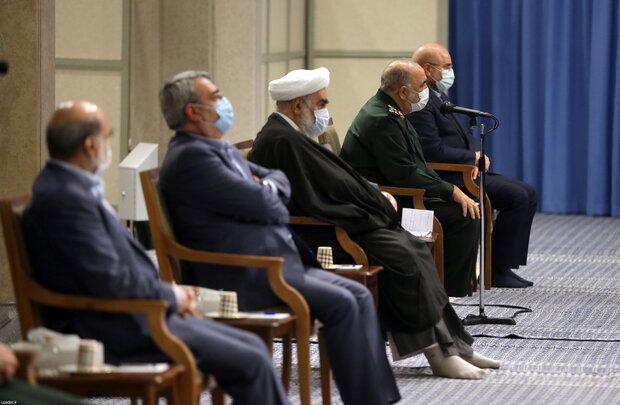 Organizers of martyrdom anniversary of General Soleimani meet Leader