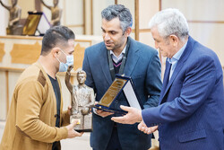 Hejazi Special Award held in Tehran