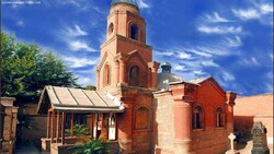 A view of Cantor Church in Qazvin