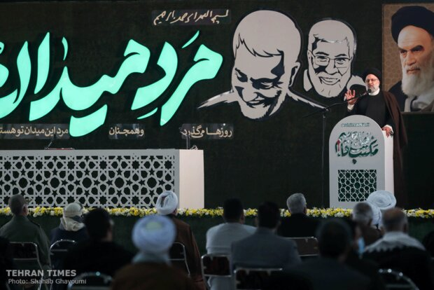 Ceremonies held to mark martyrdom of General Soleimani, al-Muhandis