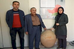 3000-year-old urn donated to cultural heritage department northwest Iran