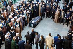 Ayatollah Mesbah Yazdi laid to rest