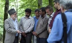 "A scene from Iranian director Ali Fakhr-Musavi's drama ""Blue Land""."