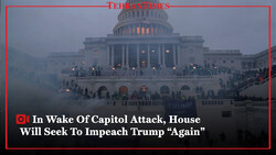 "In wake of capitol attack, House will seek to impeach Trump ""again"""