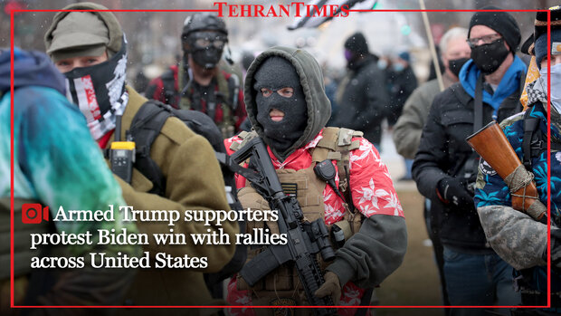 Armed Trump supporters protest Biden win with rallies across United State