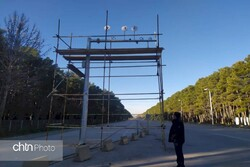 Surveillance cameras installed along road to Persepolis