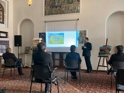 Italian embassy hosts review session of book on Tehran architecture