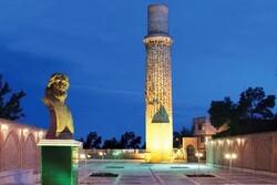 minaret of Shams mausoleum
