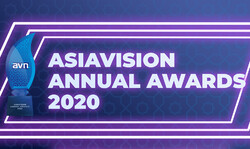 A poster for the Asiavision Annual Awards 2020.