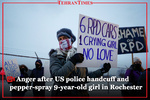 Anger after U.S. police handcuff and pepper-spray 9-year-old girl in Rochester