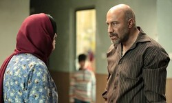 "Fatemeh Motamed-Aria and Mohsen Tanabandeh act in a scene from ""Once Upon a Time Abadan"" directed by Hamidreza Azarang."