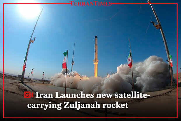 Iran launches new satellite-carrying Zuljanah rocket