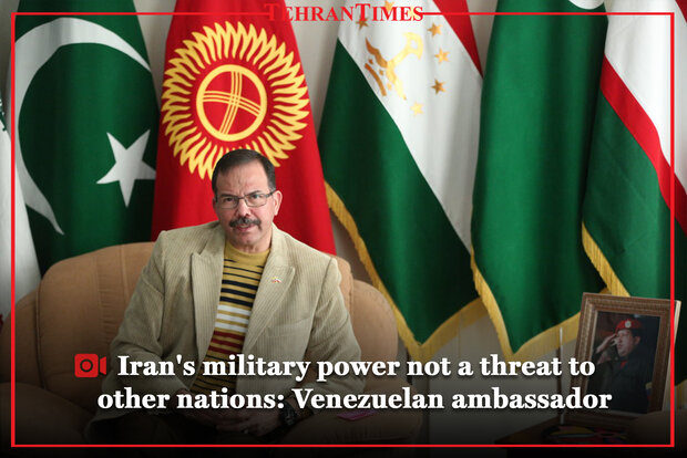 Venezuelan diplomat sits for interview with Tehran Times