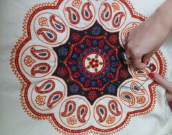 Persian handicrafts: Pateh Douzi of Kerman