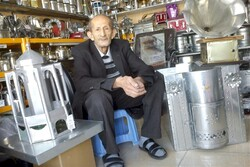 Meet elderly tinsmith who's a living human treasure