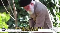 A scene from the ICRO music video on Leader of the Islamic Revolution Ayatollah Seyyed Ali Khamenei.