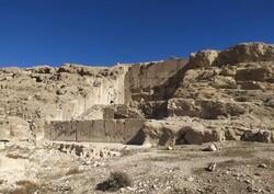 Ancient rock-hewn monument undergoes urgent restoration