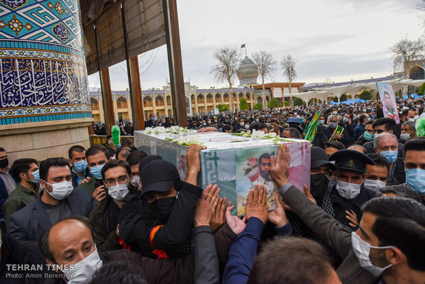 Mohsen Jafari, martyr of order and security, laid to rest