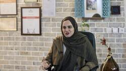 Iranian filmmaker Narges Abyar. (Anadolu Agency)