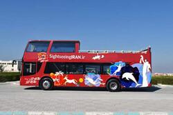 Hop-on hop-off busses reach Kish Island