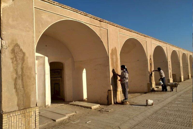 Yazd's centuries-old cemetery restoration works begin