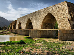 Sassanid-era arch bridge restoration work completed