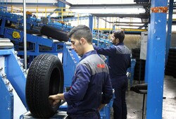 Tire output rises 18% in 11 months on year