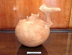 Prehistorical pottery recovered in western Iran