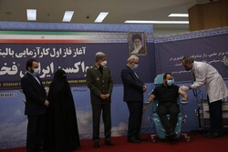 Iran unveils, tests new COVID-19 vaccine