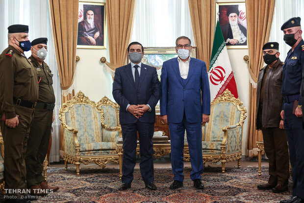 Iraqi Defense Minister meets with Shamkhani