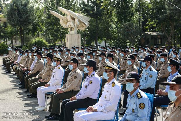 Military Command Graduation Ceremony