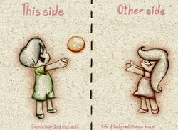 "A poster for ""This Side, Other Side"" by Lida Fazli."