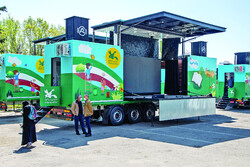 IIDCYA mobile theater trucks roll out for rural Iran