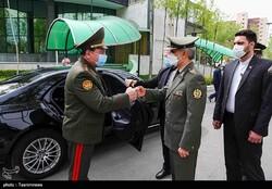 Tajik defense minister visits Iran