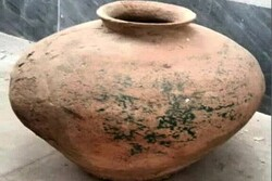 Bronze Age earthenware donated to Iranian museum
