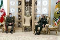 Tajik defense minister meets Gen. Baqeri