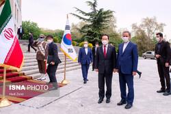 South Korean PM and Iranian VP Jahangiri