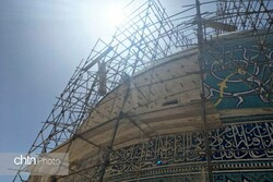 Isfahan's Imam Mosque restoration reaches final stage